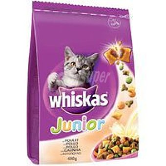 Whiskas Mini Pockets junior de pollo Pack 400