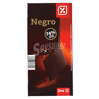 DIA Chocolate negro 74% Tableta 100 gr