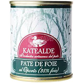 Katealde Paté de Foie al Oporto Lata 135 g