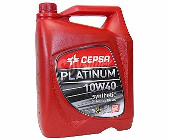 CEPSA Lubricante sintético para motores gasolina y diesel 5 Litros