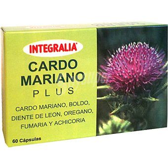 INTEGRALIA Cardo mariano plus Envase 60 capsulas