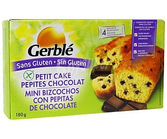 Gerblé Mini bizcochos con pepitas de chocolate sin gluten 160 Gramos