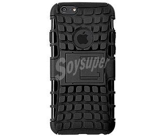 BIGBEN Carcasa y protector de pantalla para iPhone 6 Negra, antigolpes, (teléfono no incluido) 1 unidad