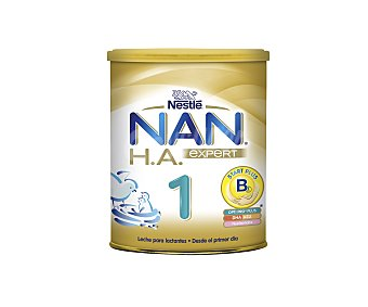 Nan Nestlé Leche para lactantes 1 hipoalergénica, a partir del primer día Expert 800 Gramos