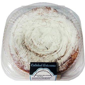 CALIDAD ARTESANA Ensaimada mallorquina con nata  Pieza 430 g