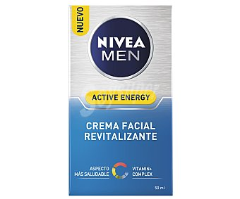 Nivea For Men Crema hidratante Q-10 revitalizante Skin Energy Frasco 50 ml
