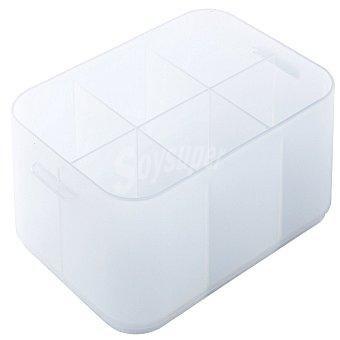 Caja con separadores de Plástico Pratik Crf H. A6 Baja - Transparente 1 ud