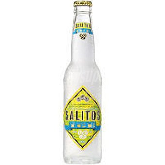 SALITOS Resfresco con alcohol al limón Botellín 33 cl