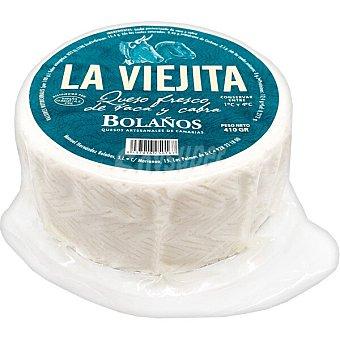 BOLAÑOS La Viejita queso fresco de vaca y cabra elaborado con leche pasteurizada Envase 410 g