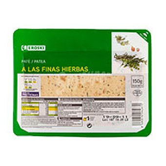 Eroski Paté a las finas hierbas 150 g
