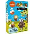 Animales y Letras mini galletas de desayuno chocolateadas Caja 160 g Danesita