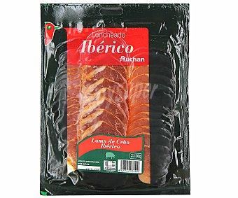 PRODUCTO ALCAMPO Lomo ibérico de cebo (50% raza ibérica), cortado en lonchas auchan 100 g