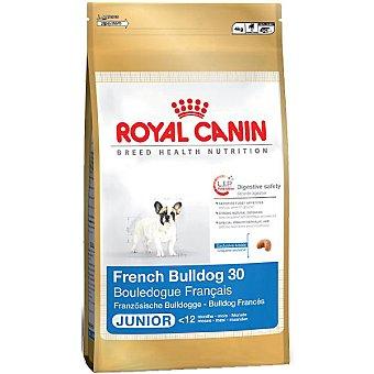 ROYAL CANIN JUNIOR French Bulldog Alimento completo para cachorros hasta 12 meses bolsa 3 kg Bolsa 3 kg