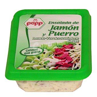 Popp Ensalada de jamón y puerros 200 g