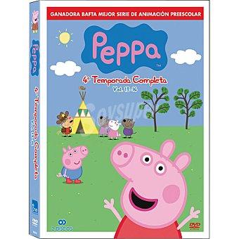 PEPPA PIG 4ª Temporada Vol. 13-14 DVD 1 Unidad