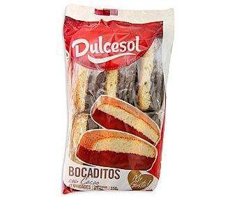 Dulcesol Bocadito de chocolate 330 gramos (12 unidades)