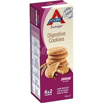 Atkins endulge Galletas digestivas ricas en fibra bajas en azúcar 6x2 unidades (envase 90 g)