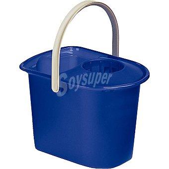Hipercor Cubo con escurridor azul rectangular envase 1 unidad 15 l