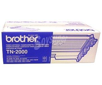 BROTHER Tóner TN-2000, negro, compatible con impresoras: HL-2030 / HL-2040 / HL-2070N / DCP-7010 / DCP-7025 / MFC-7420 / MFC-7820N / FAX-2820 / FAX-2920 / MFC-7225N