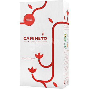 Cafeneto Café molido natural arábica 100% ecológico paquete 250 g paquete 250 g