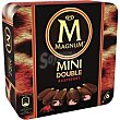 Magnum mini doble Raspberry 6 unid Frigo