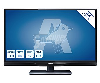 """Philips Televisión 22"""" LED 22PFH4109 1 unidad"""