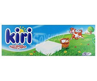 La Vaca que ríe Queso Kiri con Nata en Porciones Caja 12u de 18g