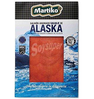 Martiko Salmón ahumado salvaje alaska 80 g