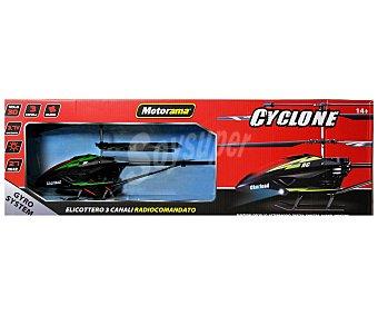 MOTORAMA Gran Helicóptero Teledirigido Cyclone, 45 Centímetros 1 Unidad