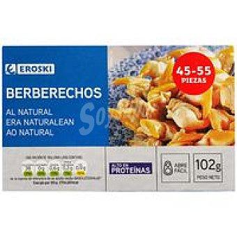 Eroski Berberecho 45/55 piezas Lata 58 g
