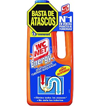 WC Net Gel energy desatascador 1 LTS