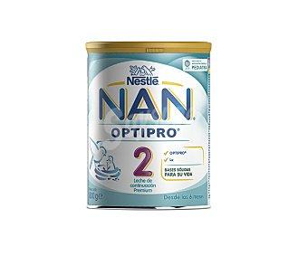 Nan Nestlé Leche infantil de continuación en Polvo, a partir de 6 meses Expert 800 Gramos