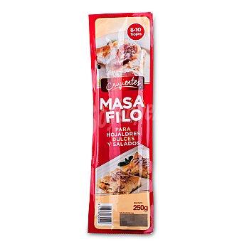 Masa filo para hojaldres y dulces salados Crujientes Paquete 250 g