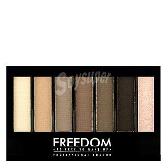 Freedom Paleta 7 sombras de ojos shade&brighten Mattes 1 ud