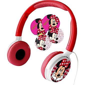 Auriculares DJ Minnie en color rojo MINNIE DIE130Z 1 Unidad