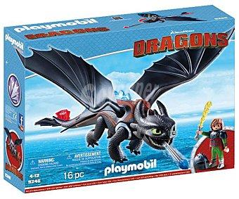 Playmobil Escenario de juego Hipo y Desdentao con accesorios, Dragons 9246 playmobil