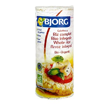 Bjorg Galletas de arroz integral 130 g