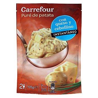 Carrefour Puré Queso Cebollino Carrefour 105 g