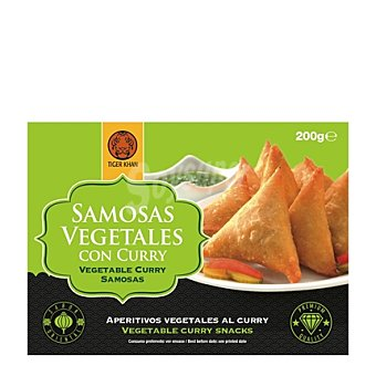 Tiger Khan Samosas vegetales 200 g