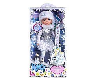 NANCY Muñeca Esquiadora, Nancy esquía cómo tú 1 Unidad