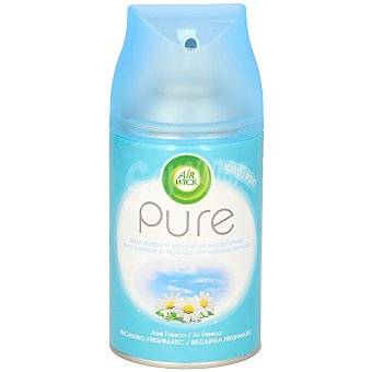 Air Wick Ambientador pure aire fresco recambio Spray 250 ml