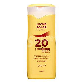 Dulgon Protector solar corporal fps 20 (leche) Botella 250 ml