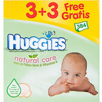 Huggies Natural Care Toallitas Caja 384 unid