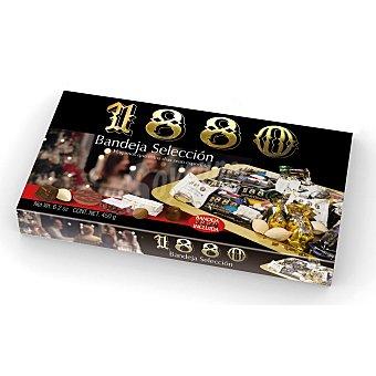 1880 Bandeja selección con turrones, dulces navideños y chocolate Caja 450 g