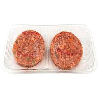 Teresa Hamburguesa de pollo vegetal TÍA Bandeja 400 g