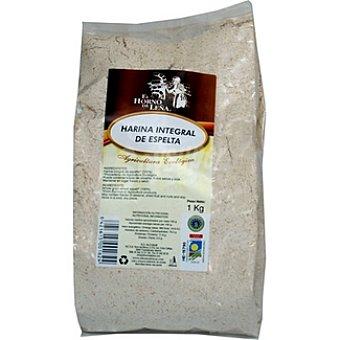EL HORNO DE LEÑA Harina integral de espelta agricultura ecológica Envase 1 kg