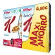 Cereales integrales de arroz y trigo Pack de 2 unidades de 500 g Special K Kellogg's