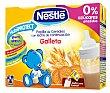 Papilla líquida de cereales con leche de continuación y galleta desde 6 meses Pack de 2x250 ml Nestlé Papillas
