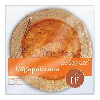 La Napolitana Pizza precocinada integral 260 g