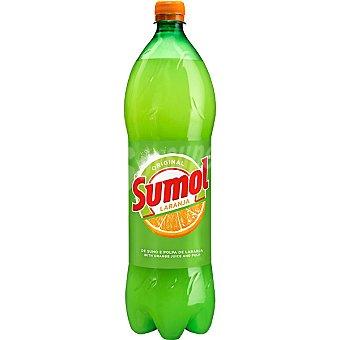 SUMOL Refresco de naranja con gas Botella 1,5 l